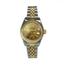 劳力士  (Rolex) Oyster Perpetual Lady-Datejust 18K Gold 69173