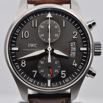 IWC Spitfire Flyback Chronograph IW387802 Slate Dial