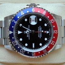 Rolex [SERVICE+B+P+99% LIKE NEW] GMT Master II PEPSI -2001