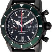Breitling : SuperOcean Heritage Chronograph 44 BlackSteel : ...