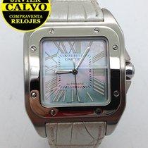Cartier Santos 100 brukt 33mm Stål