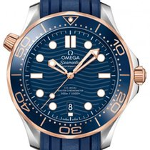 Omega 210.22.42.20.03.002 Goud/Staal Seamaster Diver 300 M 42,00mm