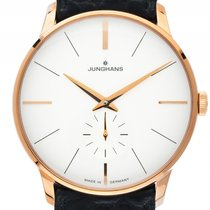 Junghans Rose gold Manual winding White 38mm new Meister Hand-winding