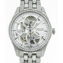 Hamilton Jazzmaster Viewmatic Steel 36mm Mother of pearl
