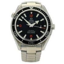 Omega 2200.51.00 Stahl 2011 Seamaster Planet Ocean 45.5mm gebraucht