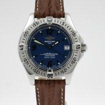 Breitling Colt Oceane Acero 32.6mm Azul Arábigos