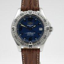 Breitling Colt Oceane Steel 32.6mm Blue Arabic numerals