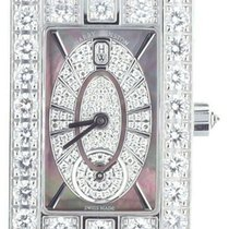 Harry Winston pre-owned Quartz 28.3mm Mother of pearl Sapphire Glass