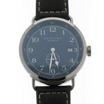 Hamilton Khaki Navy Pioneer Steel 40mm Blue Arabic numerals