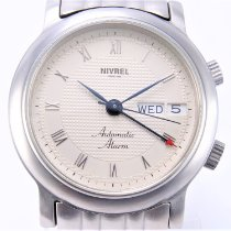 Nivrel Steel 38mm Automatic 910.001 pre-owned