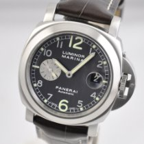 Panerai Luminor Marina Automatic pre-owned 44mm Black Date Leather