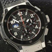 Hublot Big Bang 44 mm neu 2008 Automatik Chronograph Uhr mit Original-Box und Original-Papieren 301.SB.1323.rx.hsv08