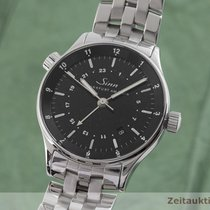 Sinn Steel 38.5mm Black