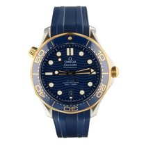Omega Seamaster Diver 300 M Gold/Steel 42mm Blue United States of America, Florida, Miami