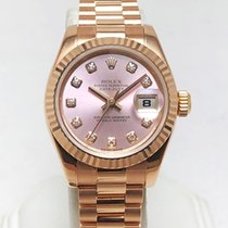Rolex 179175 Or rose 2008 Lady-Datejust 26mm occasion