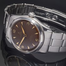 Tudor Oyster Prince Steel 34mm Brown Arabic numerals