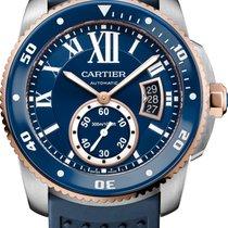 Cartier Calibre de Cartier Diver Steel 42mm Blue Roman numerals