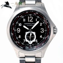 Hamilton Khaki Aviation Acier 42mm Noir