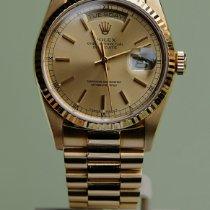 Rolex Day-Date 36 Жёлтое золото 36mm Золотой