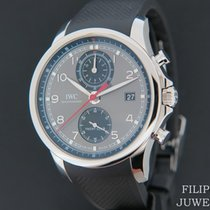 IWC IW390503 Staal 2019 Portuguese Yacht Club Chronograph 44mm nieuw Nederland, Maastricht