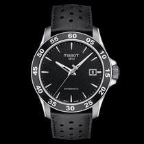 Tissot V8 Steel 42.5mm Black No numerals