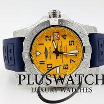 Breitling Avenger II Seawolf Cobra Yellow Dial 45mm T