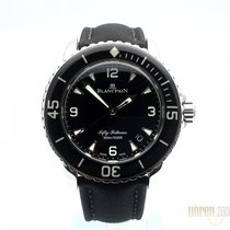 Blancpain 5015-1130-52A Steel 2020 Fifty Fathoms 45mm new