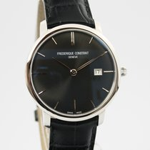 Frederique Constant Slimline Automatic Staal 40mm Zwart