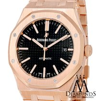 Audemars Piguet 15202OR.OO.1240OR.01 Roségold Royal Oak Jumbo 39mm neu