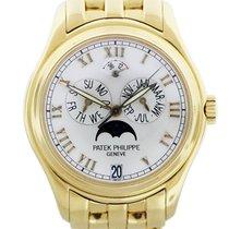 Patek Philippe Annual Calendar Yellow gold 37mm White Roman numerals United States of America, Florida, Boca Raton