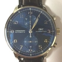 IWC Portugieser Chronograph (neu) blaues Zifferblatt