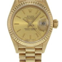 롤렉스 (Rolex) Datejust 69178 18K Yellow Gold Chpage Automatic...