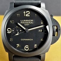 Panerai Luminor 1950 3 Days GMT Black Ceramic Automatic LIKE NEW