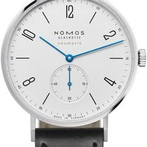 NOMOS Steel 38.5mm Automatic 140 new United States of America, New York, Airmont