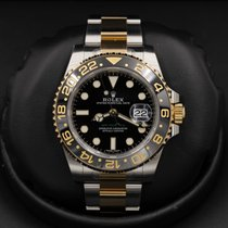 Rolex Gmt Master Ii 116713 Stainless Steel / Yellow Gold