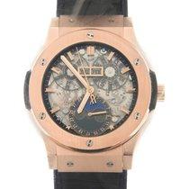 恒寶 Classic Fusion 18k Rose Gold Black Automatic 517.OX.0180.LR
