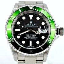 Rolex Submariner Date tweedehands 40mm Staal