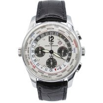 Girard Perregaux World Timer WW TC Silver Dial Chronograph...
