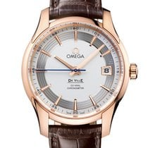Omega De Vile Hour Vision Co-Axial Master 18K Red Gold Men's...
