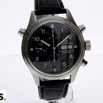 IWC Pilot Double Chronograph tweedehands 41mm Staal