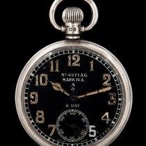 Octava 8 Day Military Pocket Watch