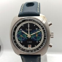 Delma Chronograph 41mm Manual winding 1970 pre-owned Black