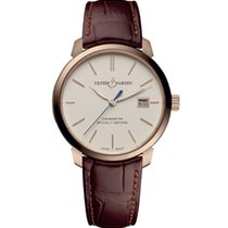 Ulysse Nardin San Marco new 2012 Automatic Watch with original box and original papers 8156-111-2/91