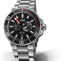 "Oris Regulateur ""Der Meistertaucher"" Titanium 43.5mm Black No numerals"