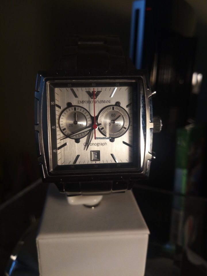 14d1b799658e Pre-owned Armani watches