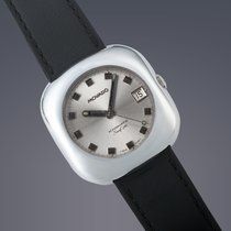Movado Kingmatic Staal 36mm Zilver