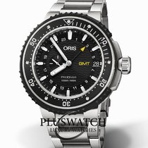 Oris ProDiver GMT Titanium 49mm Black