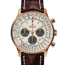 Breitling Yellow gold Automatic White 46mm new Navitimer 01 (46 MM)