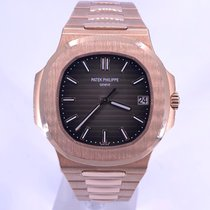Patek Philippe Nautilus Rose gold 40mm Brown No numerals United States of America, California, Beverly Hills