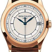 Patek Philippe Calatrava Rose gold 38mm Silver No numerals